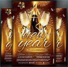 15 New Years Eve Flyer Bundle