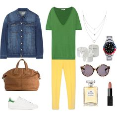 TODAY'S OUTFIT by maellog on Polyvore featuring Valentino, Current/Elliott, Zara, adidas Originals, Givenchy, Monki, Rolex, Proenza Schouler, Chanel and polyvoreblogger