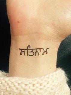 Temporary Tattoo Sat Nam Yoga Tattoo Art Yoga by misssfaith