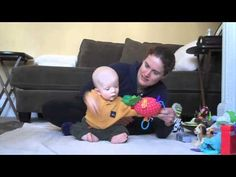 Developing Reaching in Sitting  -  Pinned by @PediaStaff – Please Visit http://ht.ly/63sNt for all our pediatric therapy pins