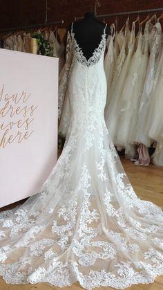 Mermaid Wedding, Lace Wedding, Wedding Dresses, Train, Fashion, Bride Dresses, Moda, Bridal Gowns, Fashion Styles