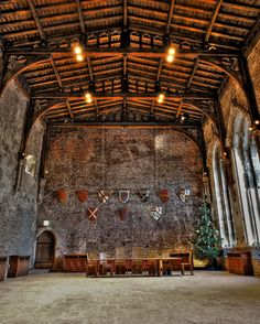 Great Hall, Caerphilly Castle, Wales