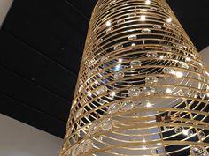 #davidchipperfield for #viabizzuno #chandelier #lighting #design #designweek #designweek2016 #salonedelmobile #salonedelmobile2016 #Milan #Milano by carlopianosi