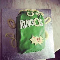 Ringos birthday cake