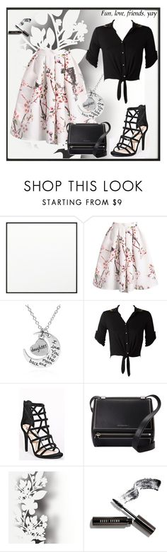 """Bez naslova #106"" by dinaa45 on Polyvore featuring moda, By Lassen, Rebecca Taylor, Givenchy, Élitis i Bobbi Brown Cosmetics"