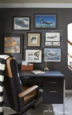 Beautiful Corner Home Office Ideas