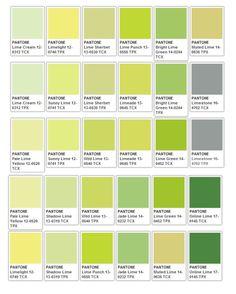 Risultati immagini per pantone tcx cream Pantone Color Chart, Pantone Colour Palettes, Pantone Green Colors, Green Colour Palette, Green Color Chart, Lemon Green Colour, Green Color Names, Colour Chart, Pantone Tcx