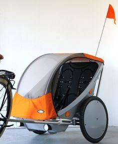 Leggero Twist fietskar kopen? Een modern vormgegeven 2-zits fietskar
