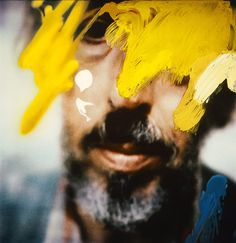 """© Richard Hamilton, Eight-Self-Portraits (detail) Here's one more picture of the exhibition """"Painting in Photography. Strategies of Appropriation"""" (at Städel Museum in Frankfurt am Main,. Glass Photography, Photography Exhibition, Face Photography, Summer Photography, Städel Museum, John Baldessari, Collage Artists, Assemblage Art, Paintings"""