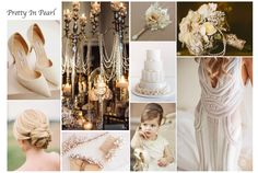 Inspire Me: Pretty in Pearl - Wedding Blog UK