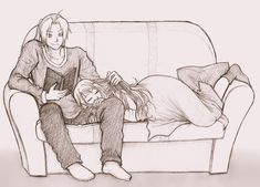 FMA Sweet Moment of Relaxation by KGX347 on DeviantArt