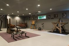 Meadhall Dungeon - Oregon Private BDSM Playspace – West Linn, Oregon - 20 minutes from Portland - Strict Space Interior Modern, Interior Design, Dungeon Room, Play Kitchen Sets, Playroom Furniture, Furniture Plans, Red Rooms, Play Spaces, Cool Rooms