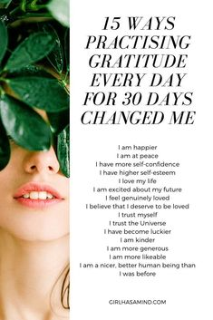 15 Ways The Practice Of Gratitude Every Day for 30 Days Changed Me Angry Person, Negative Person, Practice Gratitude, Gratitude Quotes, Self Development, Personal Development, How To Gain Confidence, How To Be Likeable, Positive Mindset