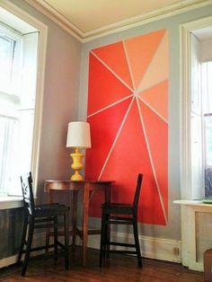 Ideas para pintar paredes de forma diferente y original