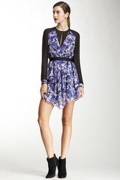 Robert Rodriguez Floral Print Silk Dress by Robert Rodriguez on @HauteLook