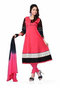 Indian Designer Wear Pure Cotton Pink Embroidered Salwar Kameez Fabdeal, http://www.amazon.de/dp/B00J0V1QQ2/ref=cm_sw_r_pi_dp_LS6otb1E9SM80