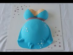 Babybauch Torte / Babyshower - YouTube