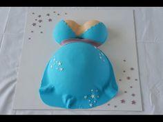 Babybauchtorte / Babyshower / Pregnant belly cake / Motivtorte / Babybauch Torte - YouTube