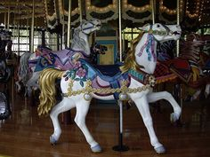 PTC Woodland Park Antique Carousel   Flickr
