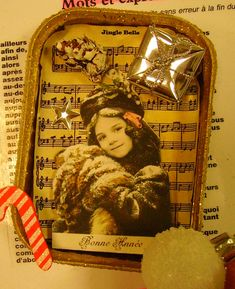 Idées Noël - L'enfance de l'art Theme Noel, Christmas Fun, Crafty, Baseball Cards, Tins, Globe, Image, Ideas, Art History