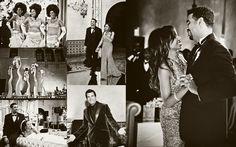 Vintage Motown. My Fair Wedding  (Look at the gloves---bridesmaids)