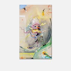 "RADIM KOROS / ""EGE"" / 2014 / 60 x 100 cm //  acrylic x spray on canvas"