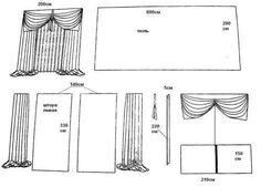 Patrón para diferente estilos de cortinas. Cortinas de velcroDIY como hacer un cojín multiusos vaqueroPatrón de bolso cesta para LaboresBolsa para guardar las labores de crochetDIY colchonetas con almohadasMoldes para hacer cojines o almohadas emoticonesPatrón Bata unisexDIY cojines con cara de muñecasDIY Colcha de nudosDIY Bata para casaMoldes para pantuflas de botasPatrón de …