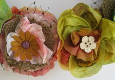 Made by Nicole: Paper Towel Spring Wreath