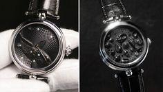 Angular Momentum Handmade Timepieces - Peças elegantes e belas, feitas à mão por uma empresa de um homem só. Estes relógios são mais do que bonitos, são exclusivos.