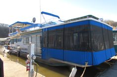 1987 Sumerset 14x60 $69,900   A great boat with lots of options.  New front enclosure, hardwood floors, inverter, flybridge, party top, 8.5 Westerbeke generator and V8 Volvo with a recent drive service.   There is a new two place bar, two bedrooms and one full bath.