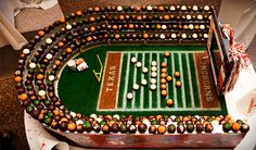 Longhorn cake ball #texaswedding