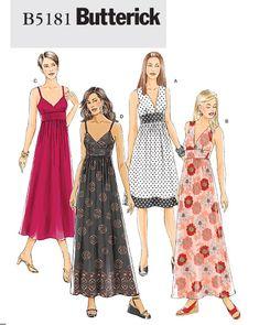 Butterick Misses Dress 5181