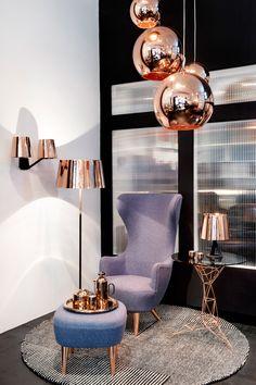 Design News: Tom Dixon opens Showroom at New York Interior Design Minimalist, Interior Design Business, Contemporary Interior Design, Modern Interior, American Interior, Luxury Interior, Furniture Showroom, Luxury Furniture, Furniture Design