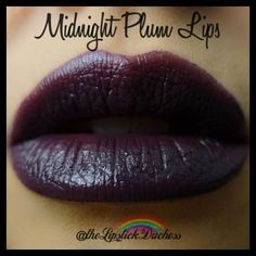 Maybelline Midnight Plum Lips LE Dark Purple Lips, Plum Lips, Purple Lipstick, Color Sensational, Maybelline, Make Up, Purple Things, Mua Makeup, Instagram Posts