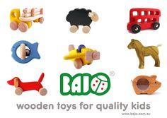 Gorgeous Bajo wooden toys