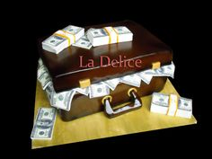 money bag - Cake by la delice