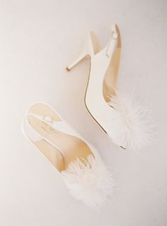 Fluffy shoes: http://www.stylemepretty.com/texas-weddings/del-rio/2015/05/08/rustic-texas-chapel-wedding/   Photography: Mint Photo - http://mymintphotography.com/