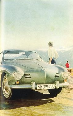Karmann Ghia poster vintage