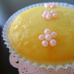 Glazed Lemon Buttermilk Cupcakes