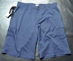 Adidas Climalite walk shorts size 34 Navy #LRG #Cargo