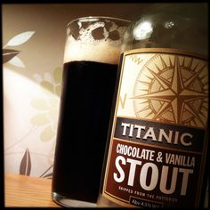 Chocolate & Vanilla Stout. - I haven't tried this one yet, but it sounds yummy!