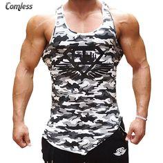 488741683b5e0 2016 Muscle Gyms Brand Sportswear Bodybuilding Fitness Men Tank Top Golds  Gorilla Wearing Printing Vest Stringer