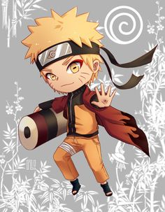 Naruto Uzumaki - Chibi by Nero203 on DeviantArt