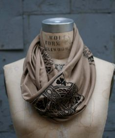 Men's Scarves/Men's Accessories/Men's Infinity by halfration, $25.00