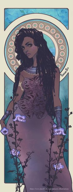 African Queen Sainasix Illustration by Saina6 on DeviantArt