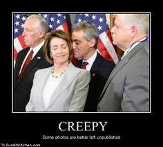 Geez, Pelosi  your hair smell terrorific!!
