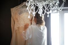 The #bride is getting ready! #preparation