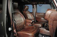 2014 Jeep Wrangler Unlimited NightHawk: Custom Leather