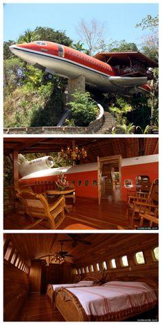 Costa Rica's Hotel Costa Verde Ressemble au bar El Avion du Parc Manuel Antonio