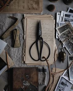 The poetry of props. Of all things, material and otherwise.